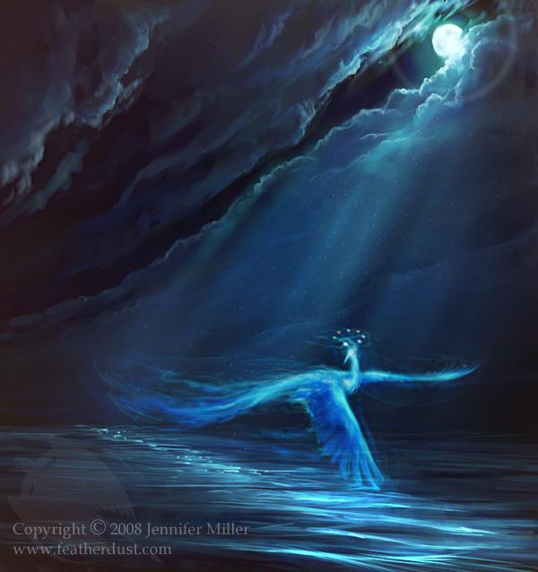 blue phoenix blue moon full moon